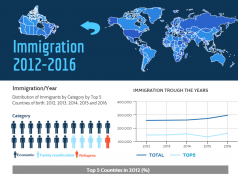 Bellissimo Immigration Lawyers - Canadian Canadian Immingration Rates Infographic